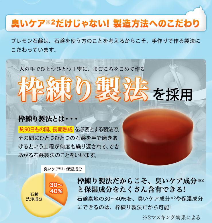 プレモン石鹸イメージ01